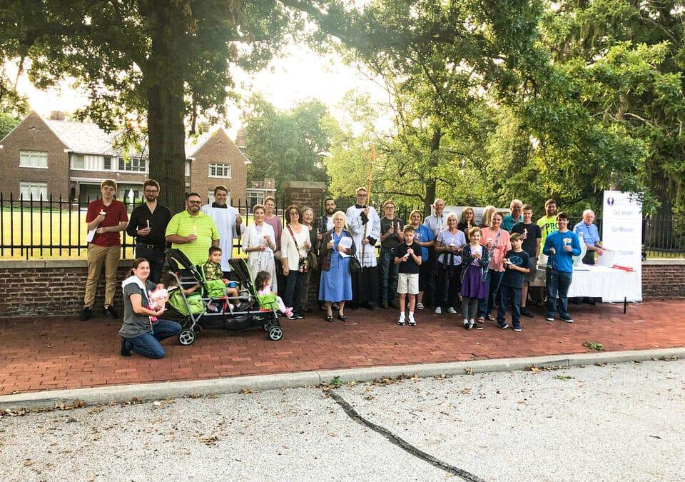 Lafayette Chancery Prayer Rally (Photo Gallery)