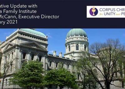 Legislative Update Part 1 with Ryan McCann IFI Our Freedoms (Video)
