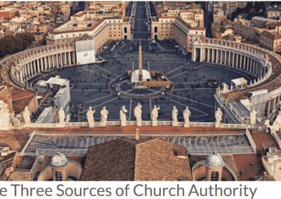 The Three Sources of Church Authority