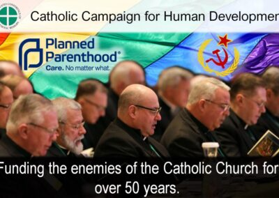 Another Catholic-Funded Organization Is Planned Parenthood Partner