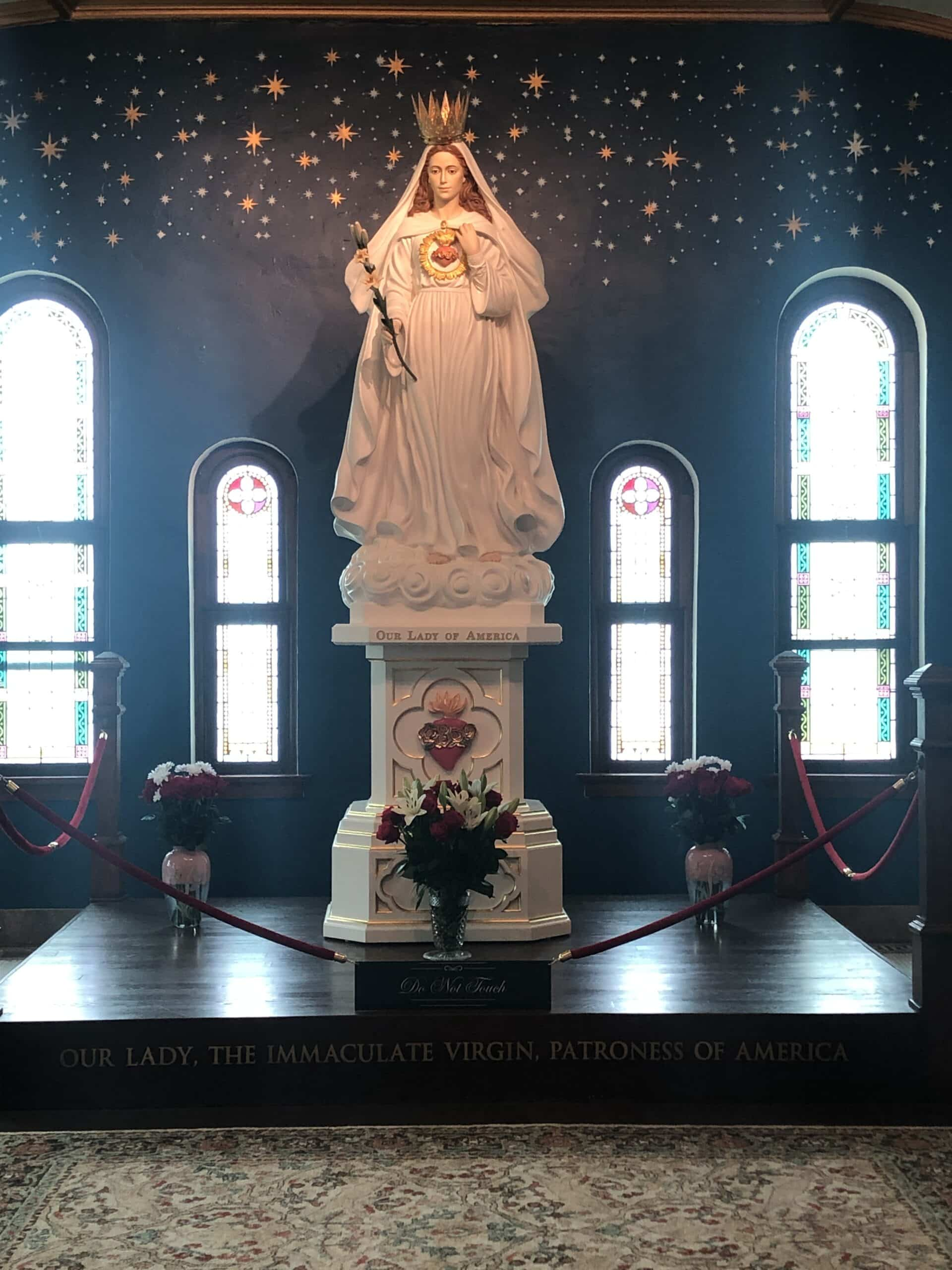 Our Lady of America Mass & Patriotic Rosary, Mother of Mercy, Rome City, IN